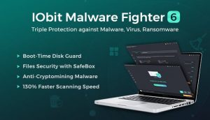 IObit Malware Fighter 8.5.0.789 Crack with Key Free 2021