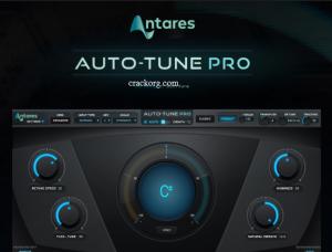 Antares AutoTune Crack