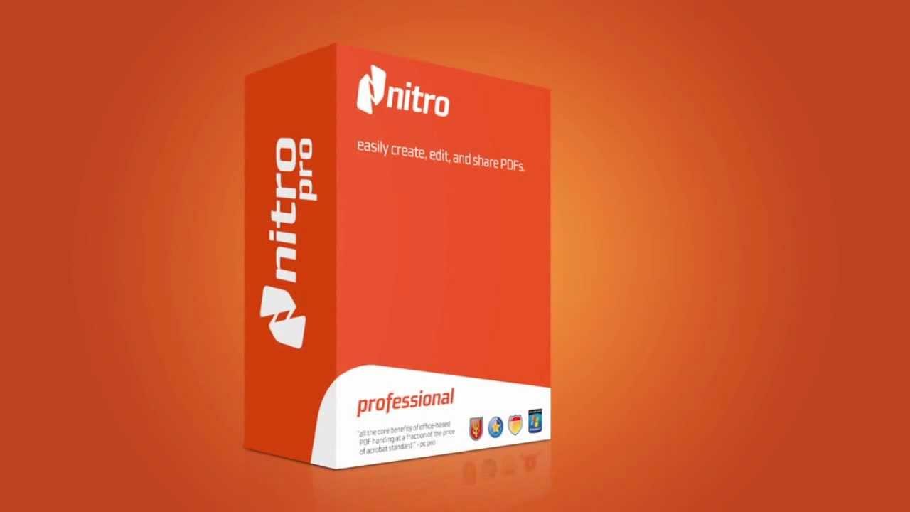 Nitro Pro 12.7.0.395 Crack