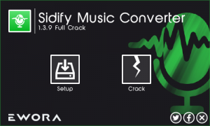 Sidify Music Converter 2.0.5 Crack Free Serial Key Full Download