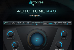 Antares AutoTune Pro 9.0.1 VST Crack For Windows + Mac (Latest)