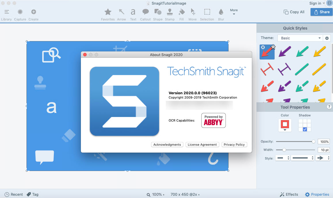 Snagit 2020.1.1 Build 5510 Crack + License Key Free Download