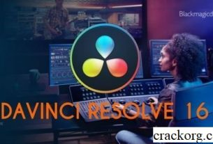 DaVinci Resolve Studio 16.2.0.55 Crack Mac + Activation Key (2020)