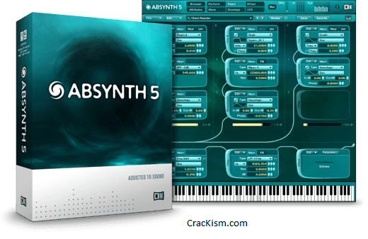 Absynth 5 Crack v5.3.1 - VST (MAC) Torrent Free Download