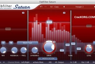FabFilter Saturn 2 Crack MAC License Key (VST Plugin) Download