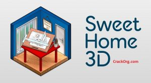 Sweet Home 3D 6.5 Crack + Serial Key 100% Working (3D&2D)