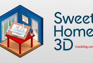 Sweet Home 3D 6.3 Crack Sketchup + Keygen (2020) Full Version