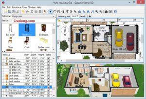 Sweet Home 3D 6.3 Crack Sketchup + Keygen (2020) Full Version